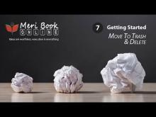 How To Use Trash & Delete - With Meribook Online Note Taking Software