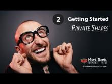 How To Use Private Share - With Meribook Online Note Taking Software