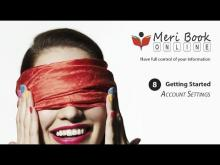 How To Use Account Settings - With Meribook Online Note Taking Software